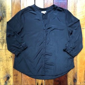 Old Navy 3/4 Sleeve Button Down Sz Lg